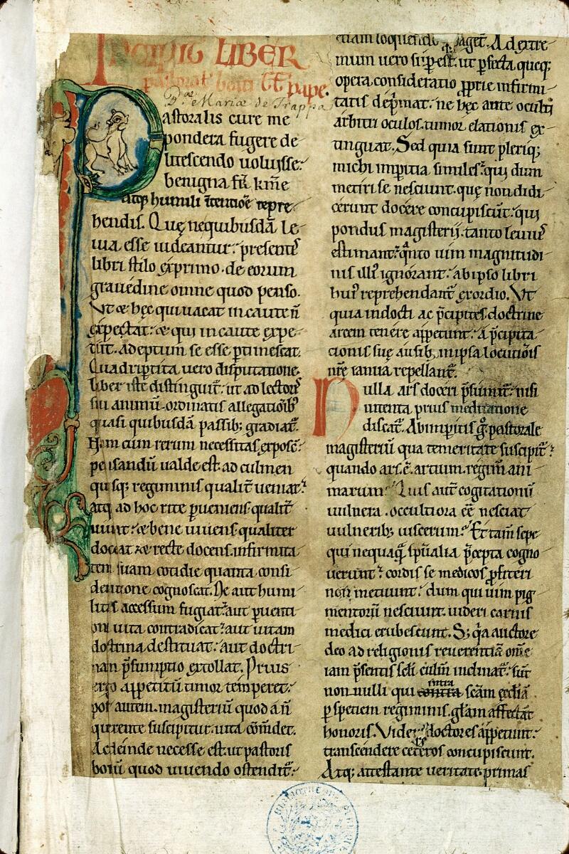Alençon, Bibl. mun., ms. 0148, f. 001
