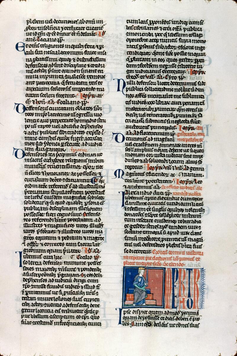 Alençon, Bibl. mun., ms. 0175, f. 044 - vue 1