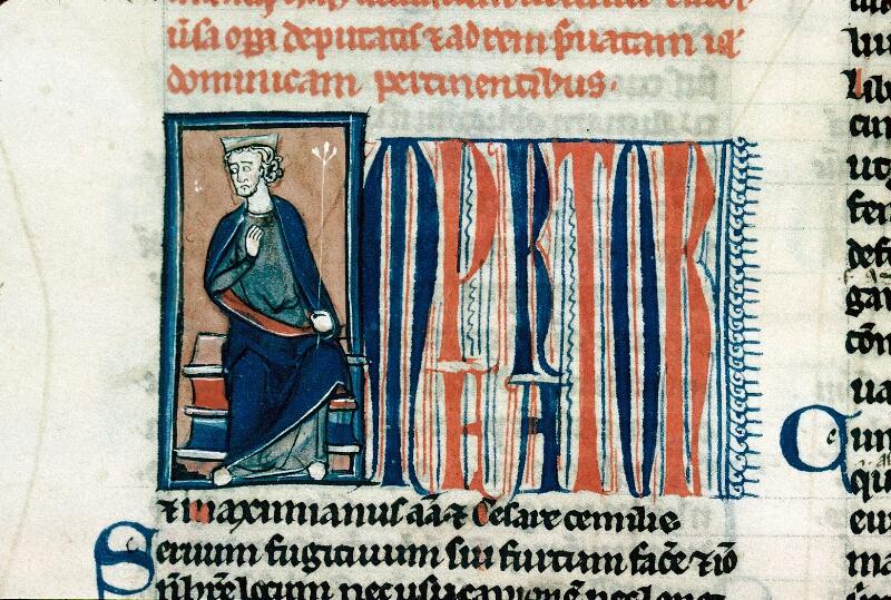 Alençon, Bibl. mun., ms. 0175, f. 129v