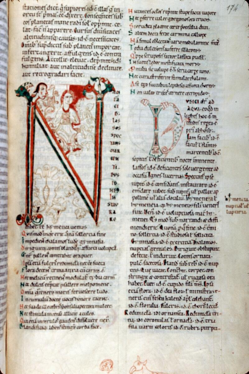 Alençon, Bibl. mun., ms. 0635, f. 174 - vue 1