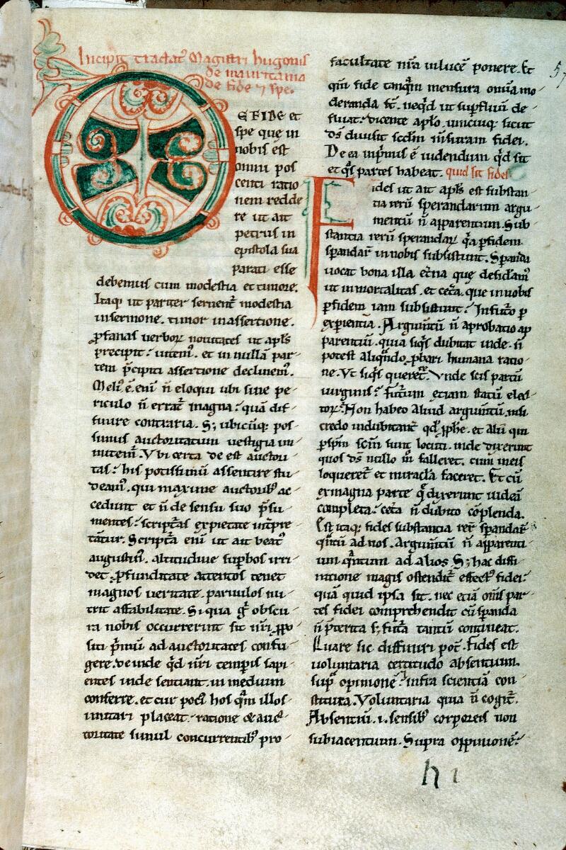 Alençon, Bibl. mun., ms. 0642, f. 057