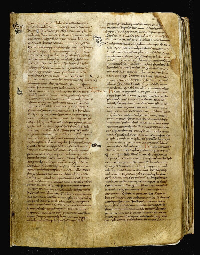 Angers, Bibl. mun., ms. 0001, f. 019 - vue 1