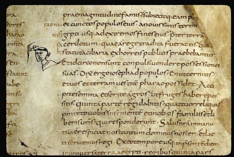 Angers, Bibl. mun., ms. 0001, f. 019 - vue 2