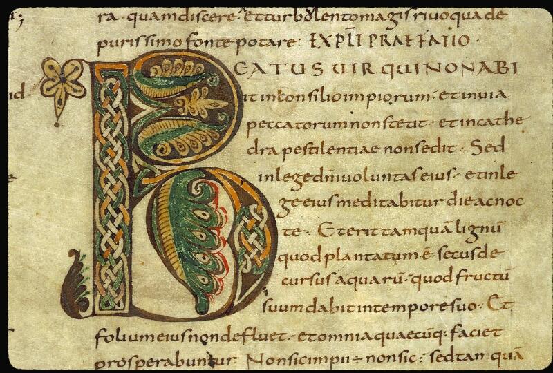 Angers, Bibl. mun., ms. 0002, f. 009 - vue 2