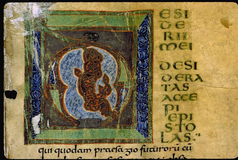 Angers, Bibl. mun., ms. 0003, f. 001 - vue 3