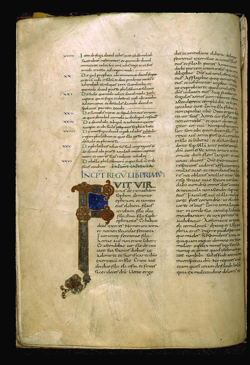 Angers, Bibl. mun., ms. 0003, f. 133v - vue 1