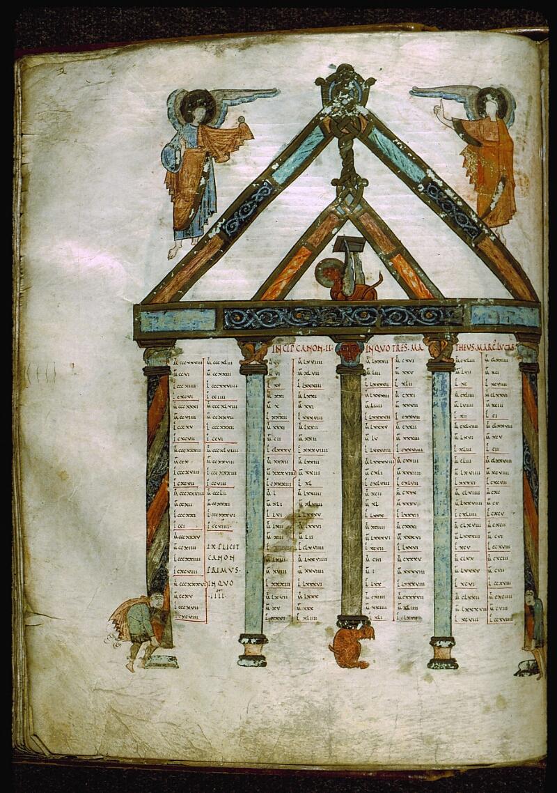 Angers, Bibl. mun., ms. 0004, f. 205v - vue 1