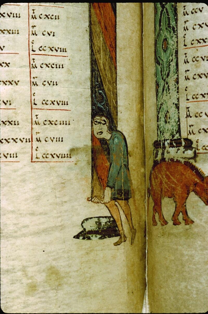 Angers, Bibl. mun., ms. 0004, f. 205v - vue 8