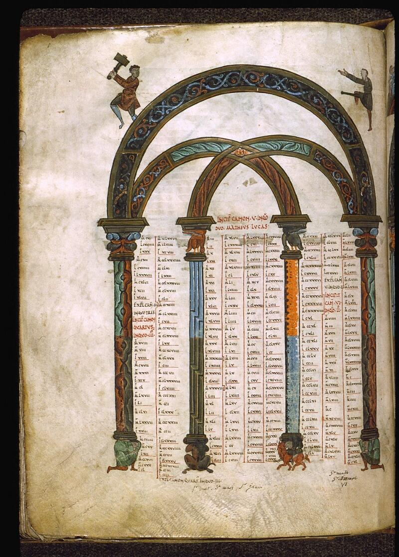 Angers, Bibl. mun., ms. 0004, f. 206v - vue 1