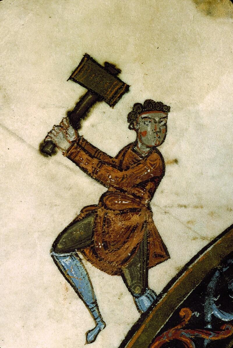 Angers, Bibl. mun., ms. 0004, f. 206v - vue 3