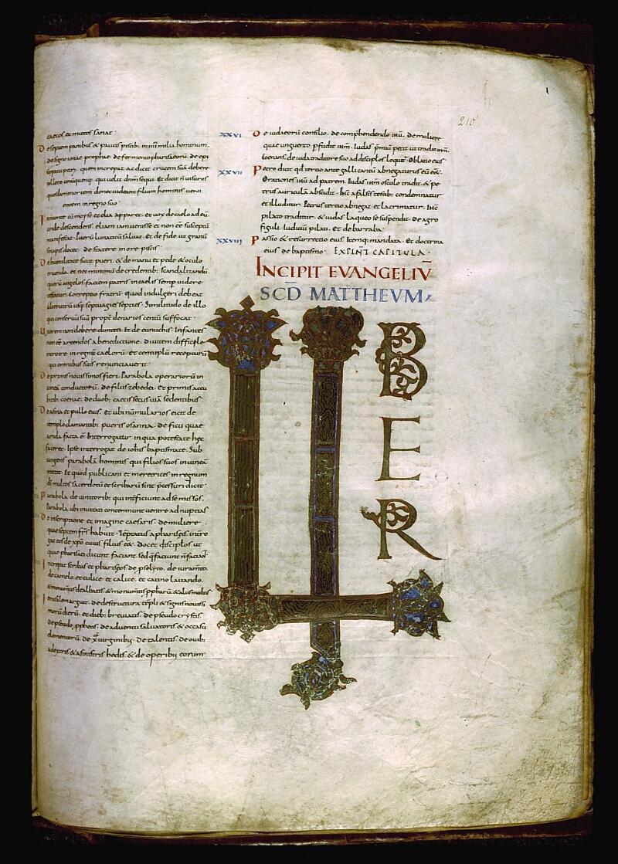 Angers, Bibl. mun., ms. 0004, f. 210 - vue 1