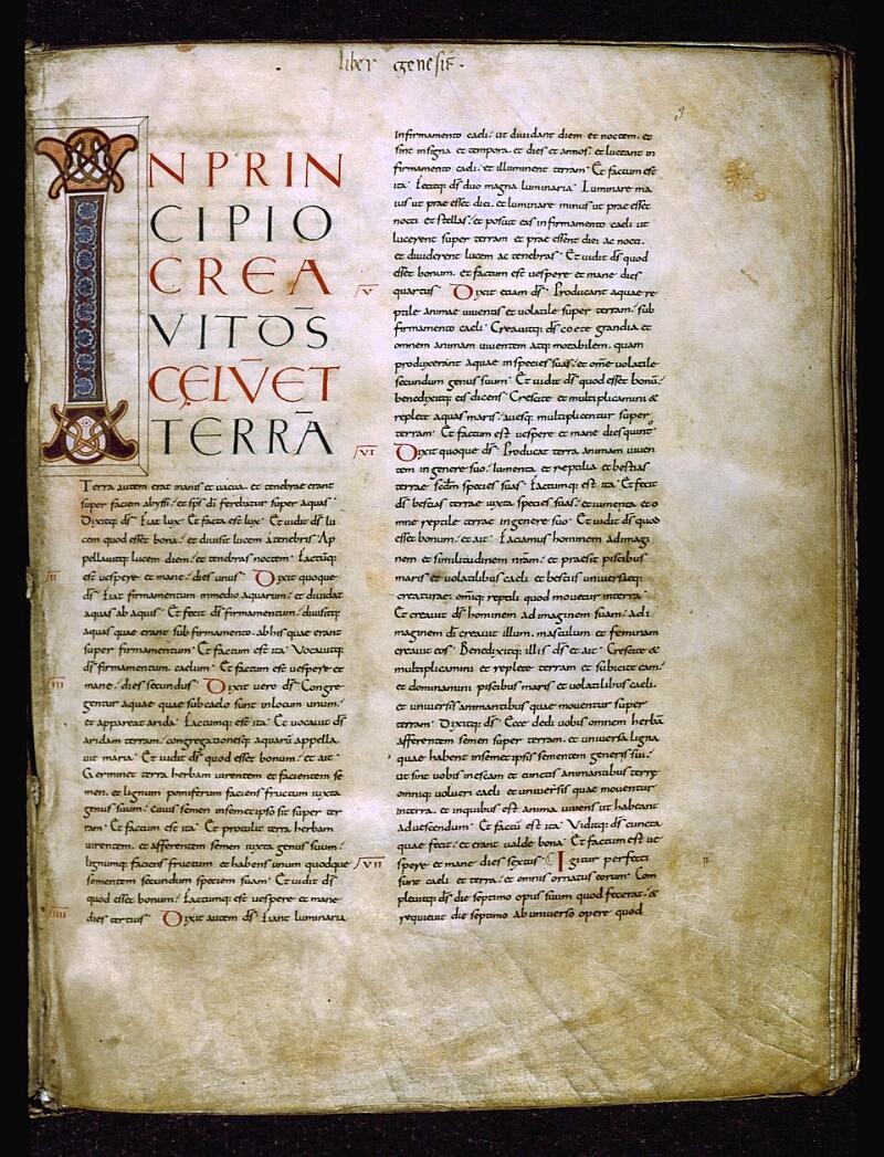 Angers, Bibl. mun., ms. 0005, f. 003 - vue 1