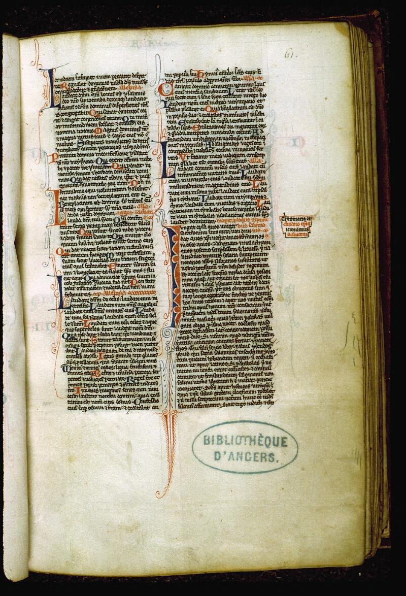 Angers, Bibl. mun., ms. 0007, f. 061