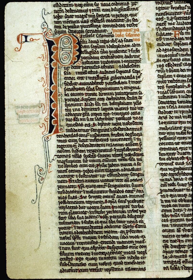 Angers, Bibl. mun., ms. 0007, f. 061v - vue 2