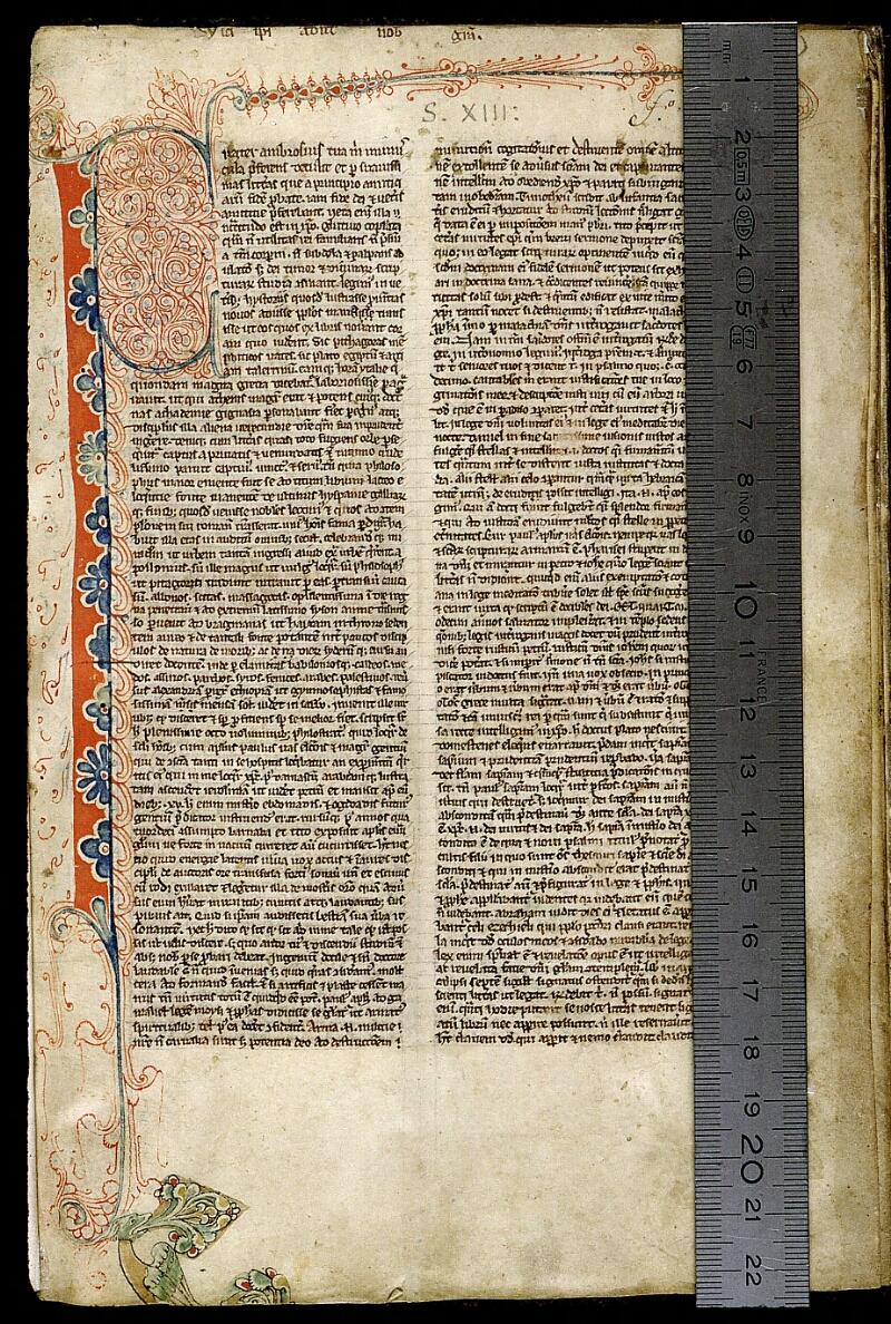 Angers, Bibl. mun., ms. 0009, f. 001 - vue 1