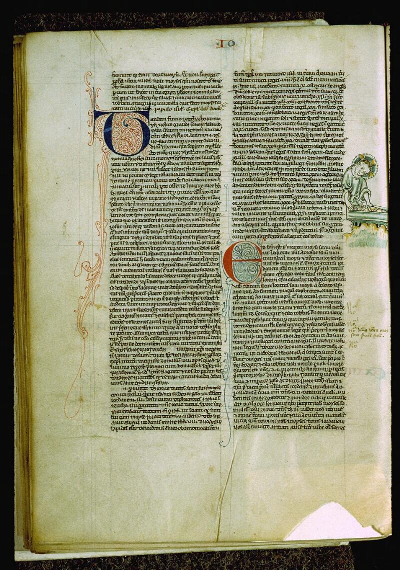 Angers, Bibl. mun., ms. 0009, f. 042v - vue 1