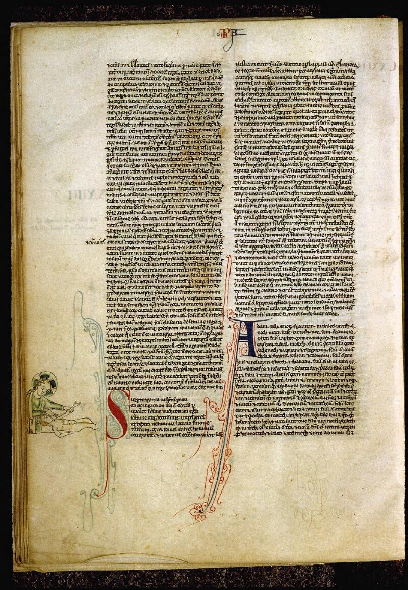 Angers, Bibl. mun., ms. 0009, f. 079v - vue 1