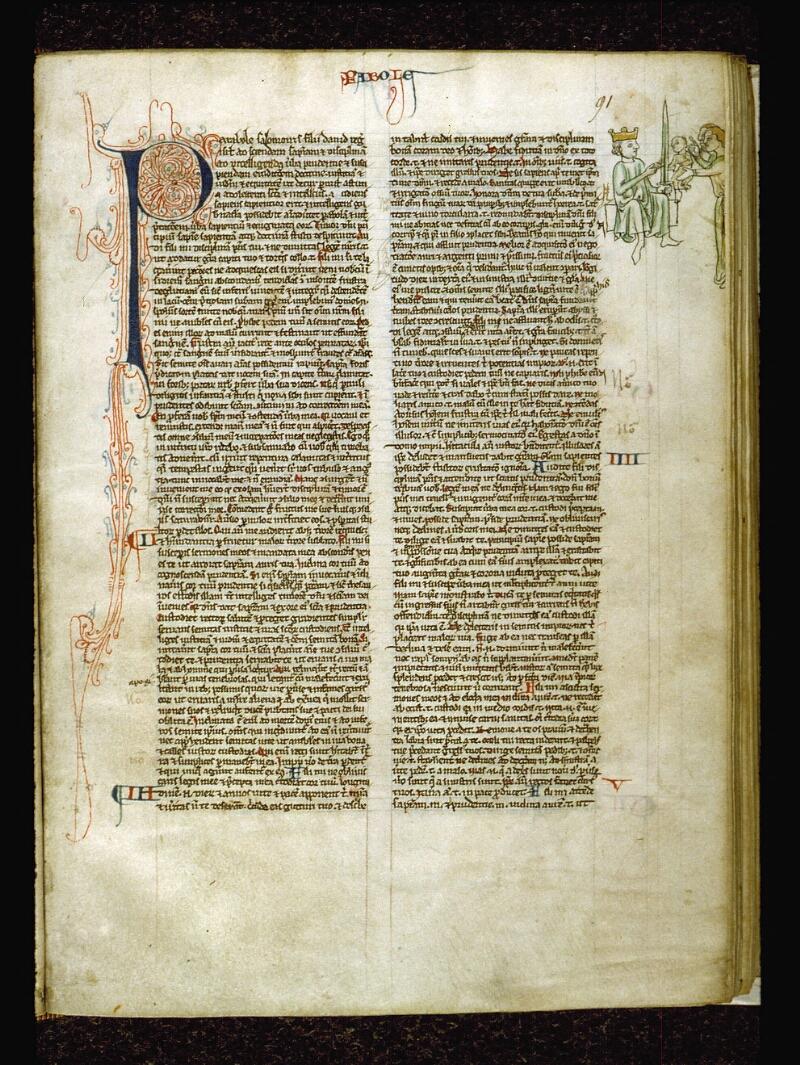Angers, Bibl. mun., ms. 0009, f. 091 - vue 1