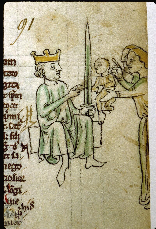 Angers, Bibl. mun., ms. 0009, f. 091 - vue 2