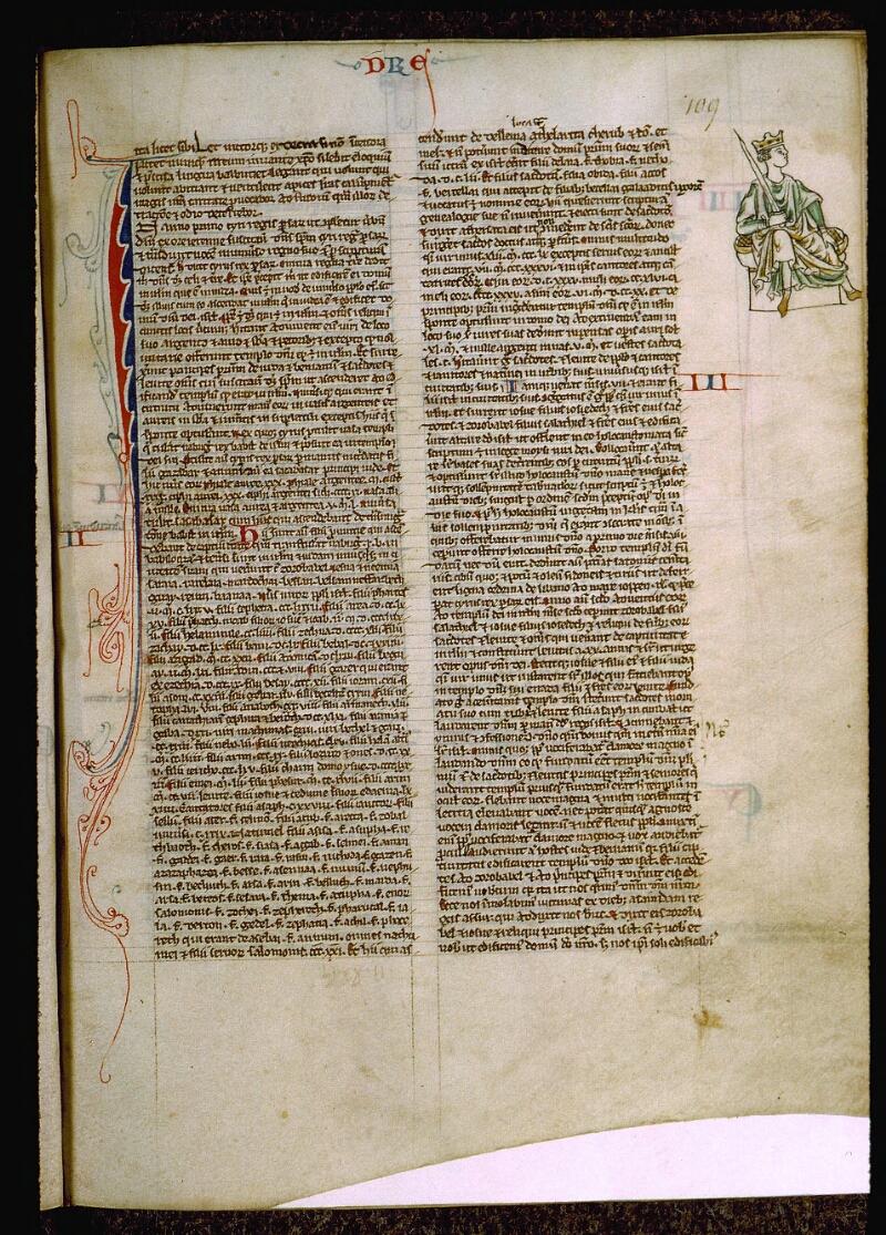 Angers, Bibl. mun., ms. 0009, f. 109 - vue 1