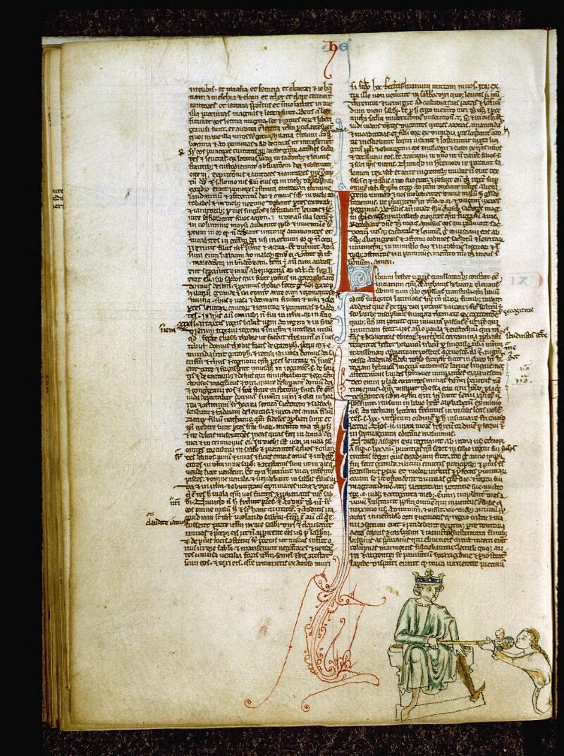 Angers, Bibl. mun., ms. 0009, f. 113v - vue 1