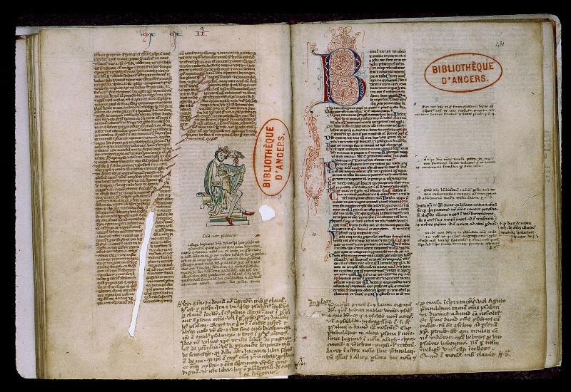 Angers, Bibl. mun., ms. 0009, f. 130v-131