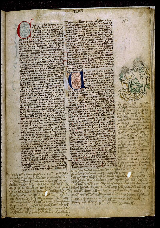 Angers, Bibl. mun., ms. 0009, f. 152 - vue 1