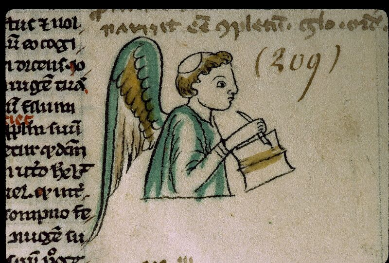 Angers, Bibl. mun., ms. 0009, f. 209 - vue 2
