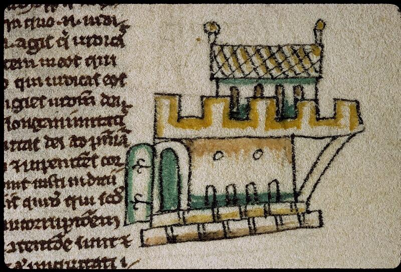 Angers, Bibl. mun., ms. 0009, f. 257 - vue 2