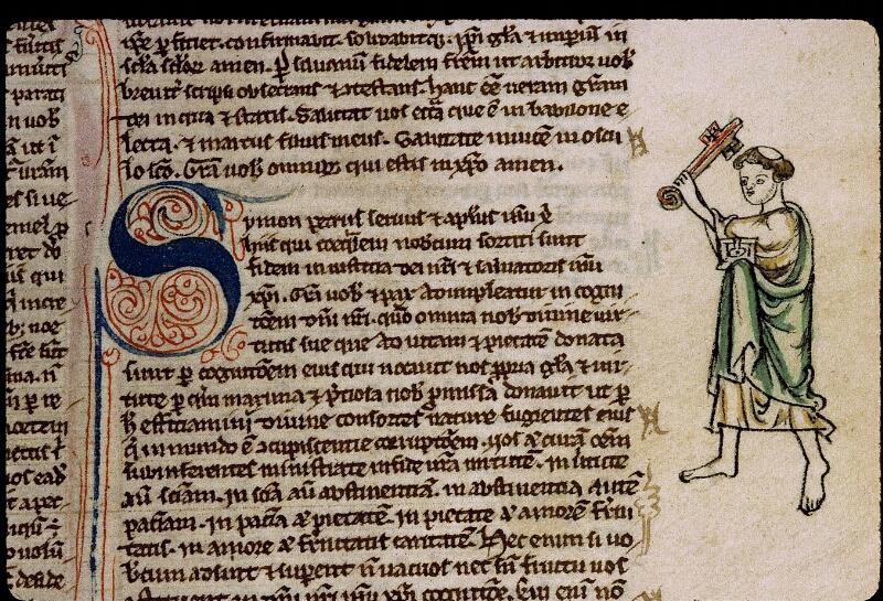 Angers, Bibl. mun., ms. 0009, f. 261