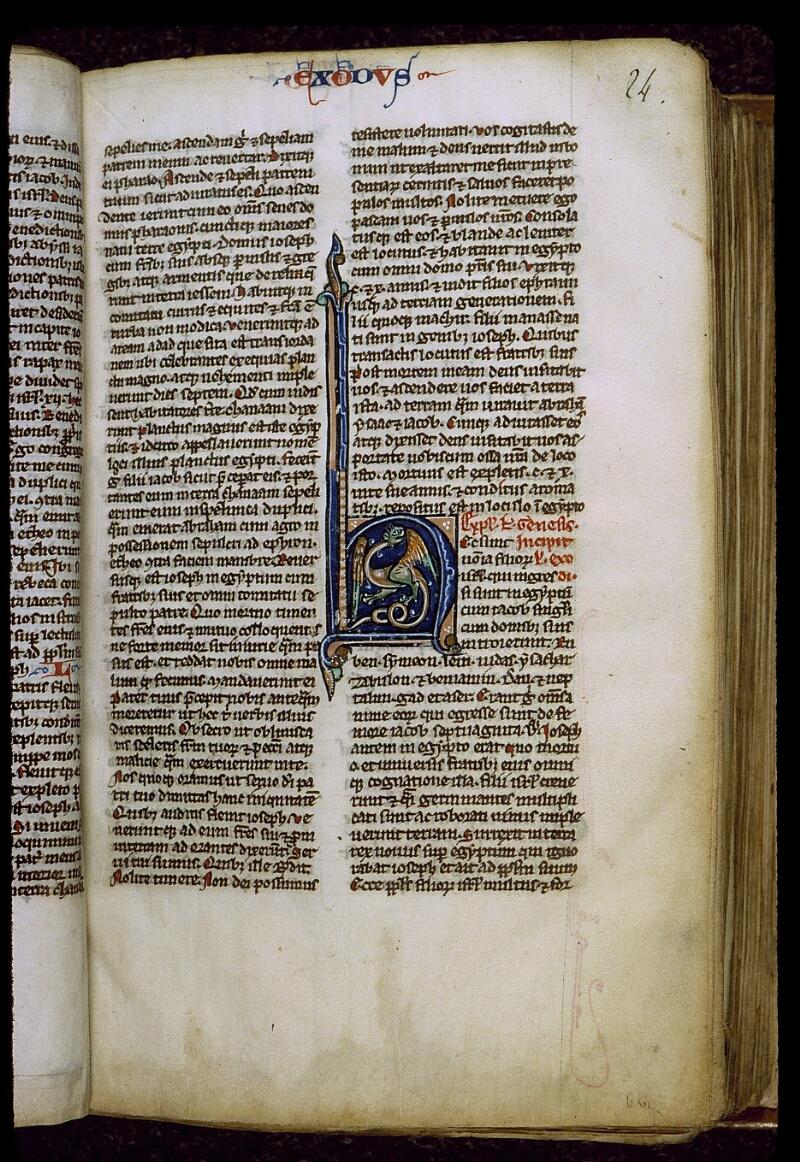 Angers, Bibl. mun., ms. 0011, f. 024 - vue 2