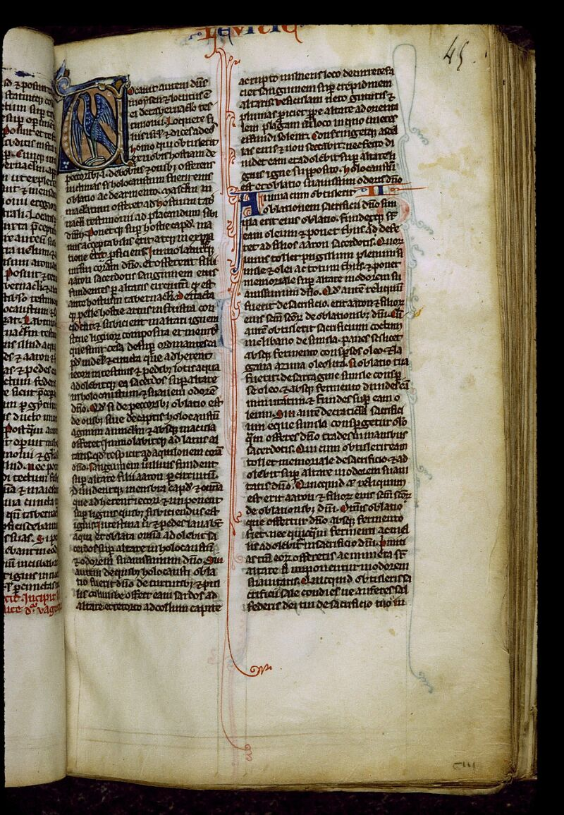 Angers, Bibl. mun., ms. 0011, f. 045 - vue 1