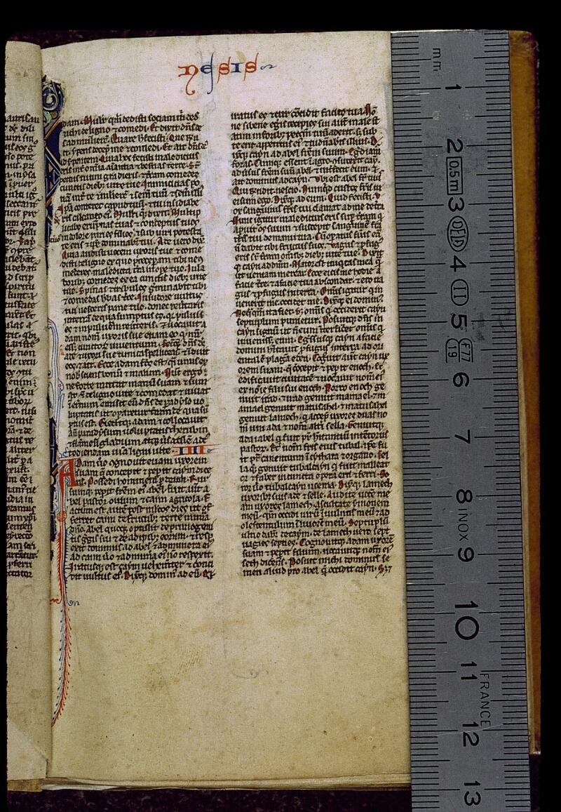 Angers, Bibl. mun., ms. 0012, f. 003 - vue 1