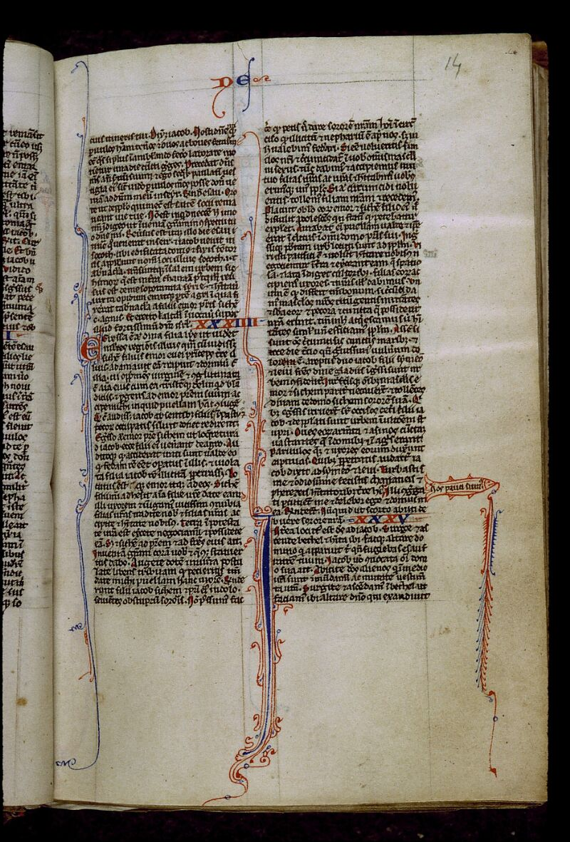 Angers, Bibl. mun., ms. 0012, f. 014 - vue 1