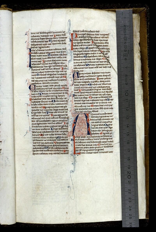 Angers, Bibl. mun., ms. 0013, f. 003 - vue 1
