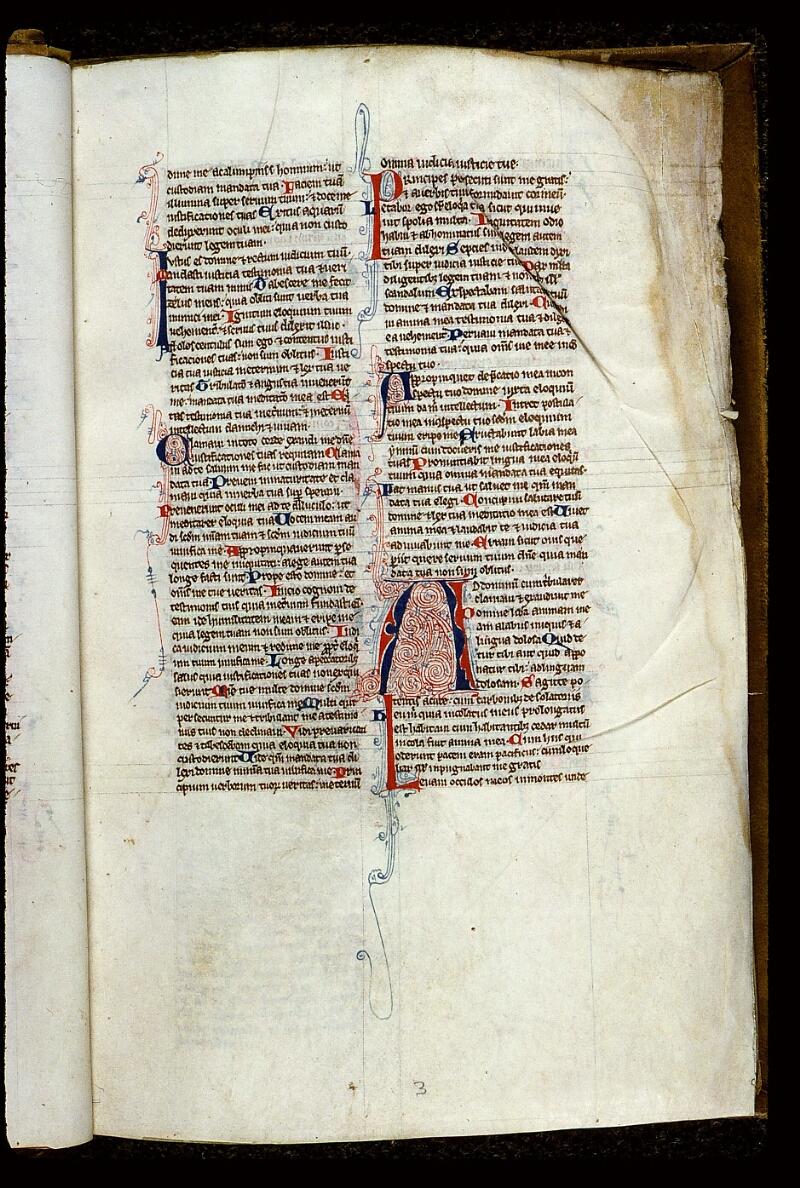 Angers, Bibl. mun., ms. 0013, f. 003 - vue 2