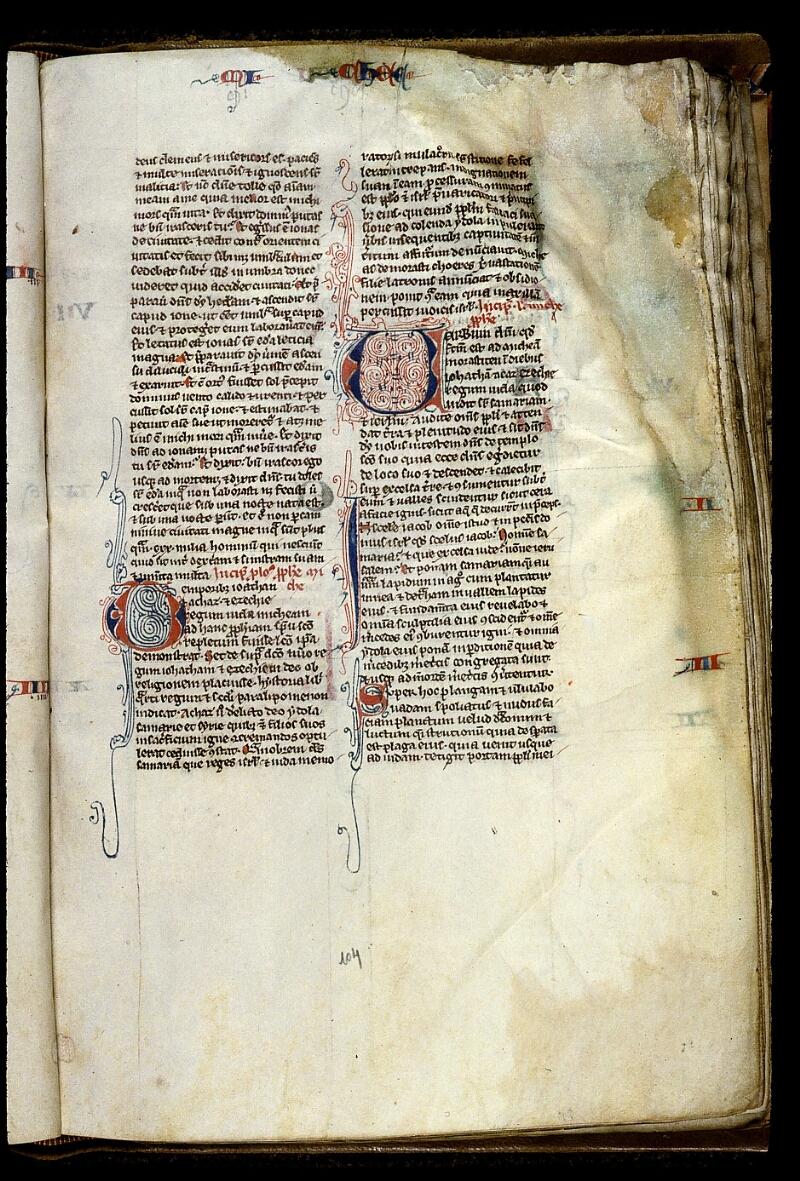 Angers, Bibl. mun., ms. 0013, f. 104 - vue 1