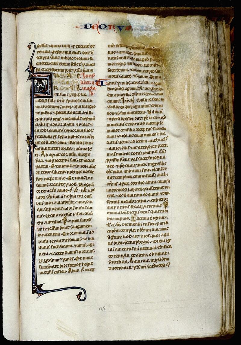 Angers, Bibl. mun., ms. 0013, f. 138 - vue 1
