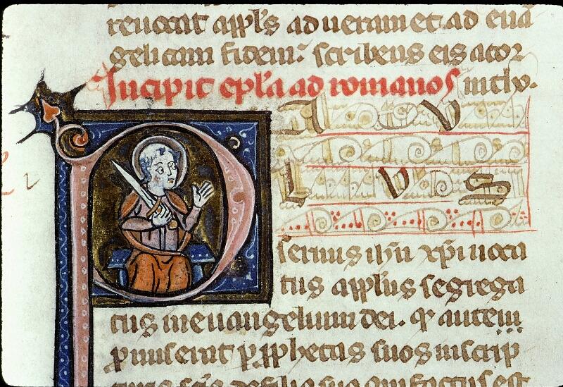 Angers, Bibl. mun., ms. 0013, f. 153 - vue 2