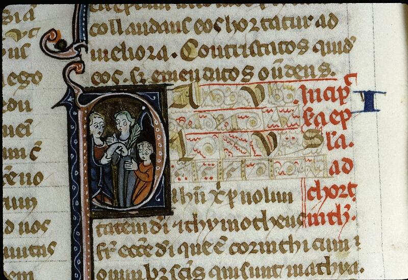 Angers, Bibl. mun., ms. 0013, f. 166v - vue 2