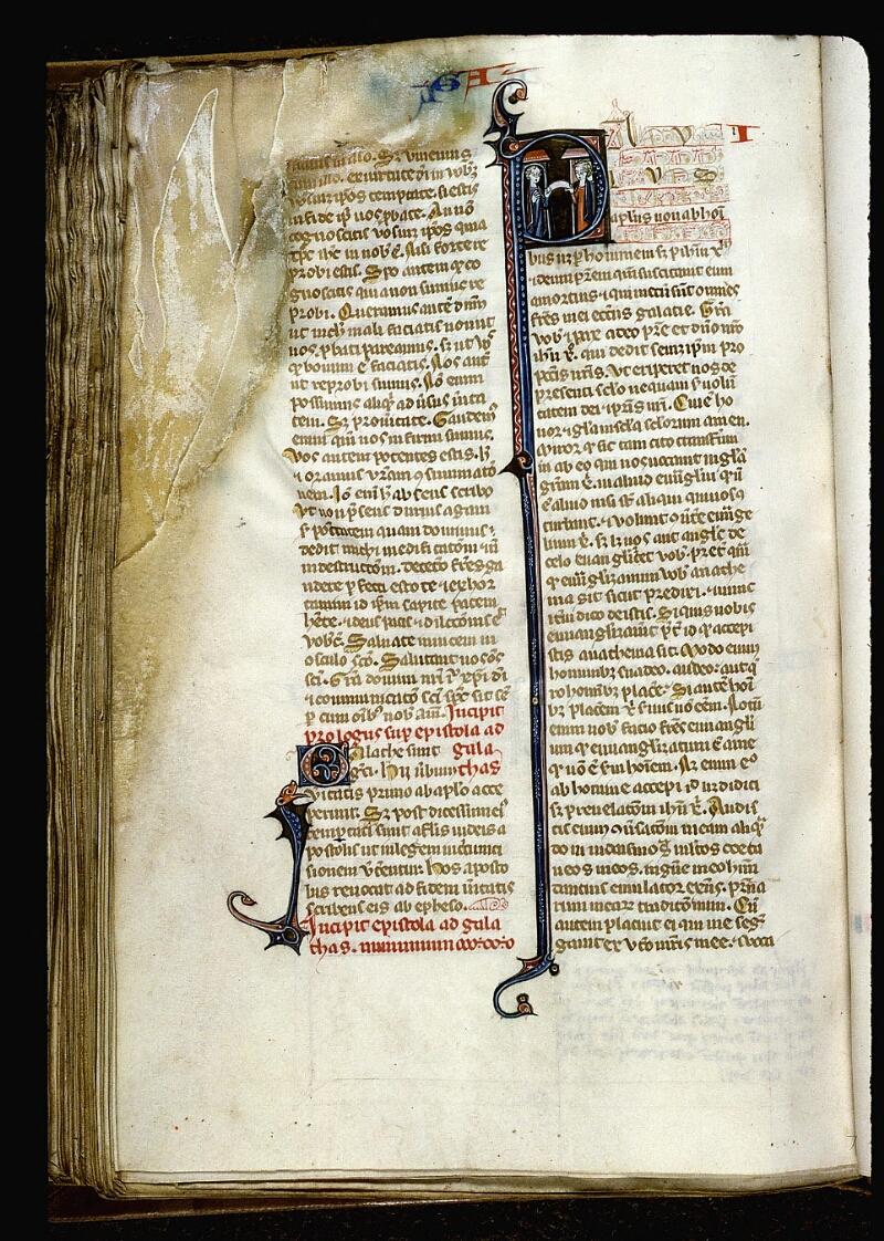 Angers, Bibl. mun., ms. 0013, f. 171v - vue 1