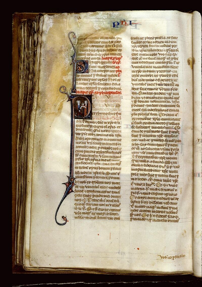 Angers, Bibl. mun., ms. 0013, f. 176v - vue 1