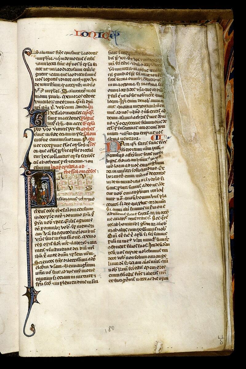 Angers, Bibl. mun., ms. 0013, f. 180 - vue 1