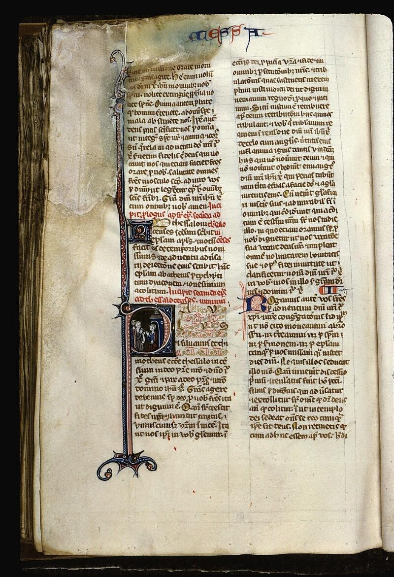 Angers, Bibl. mun., ms. 0013, f. 181v - vue 1
