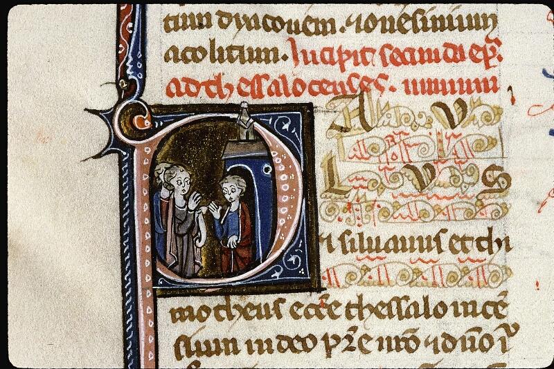 Angers, Bibl. mun., ms. 0013, f. 181v - vue 2