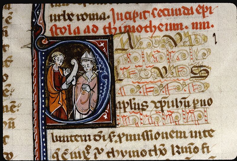 Angers, Bibl. mun., ms. 0013, f. 184 - vue 2
