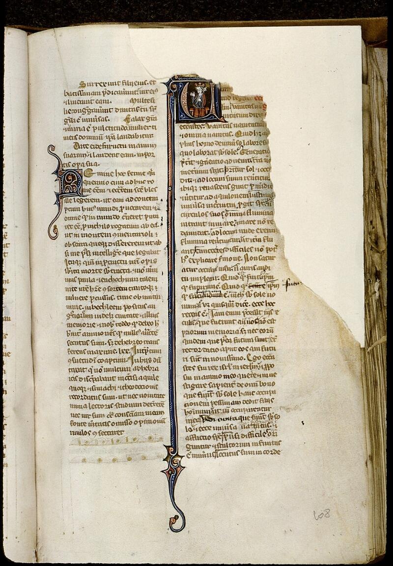 Angers, Bibl. mun., ms. 0014, f. 108 - vue 1