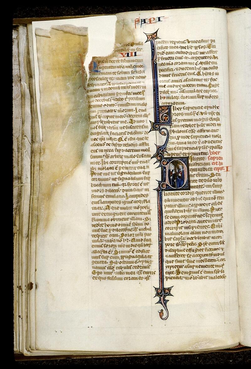 Angers, Bibl. mun., ms. 0014, f. 114v - vue 1