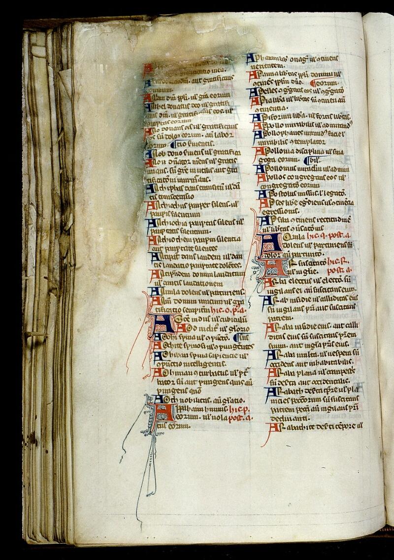 Angers, Bibl. mun., ms. 0014, f. 165v - vue 1