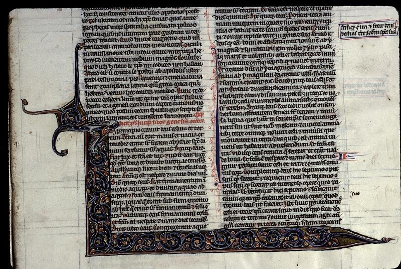 Angers, Bibl. mun., ms. 0015, f. 003 - vue 2